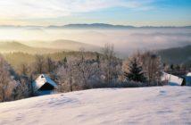 vianoce uprostred hôr kysúc