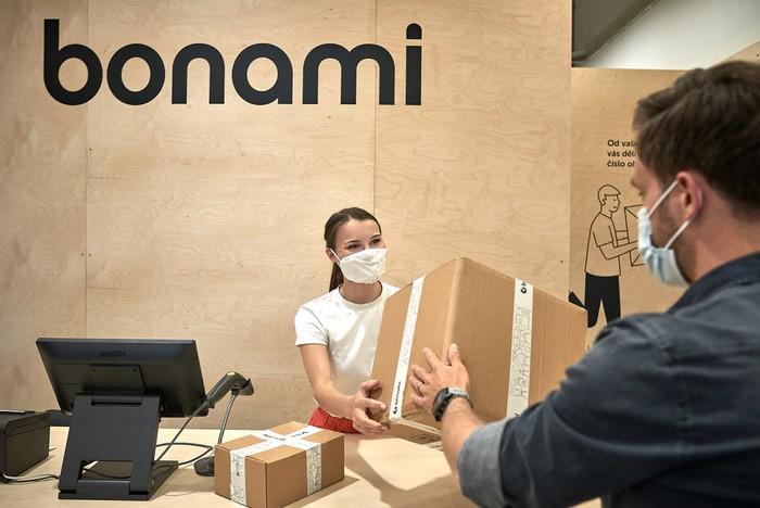 bonami prvá predajňa na Slovensku