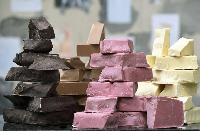 ruby čokoláda