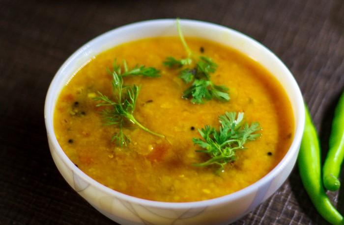 liečivý koriander polievka