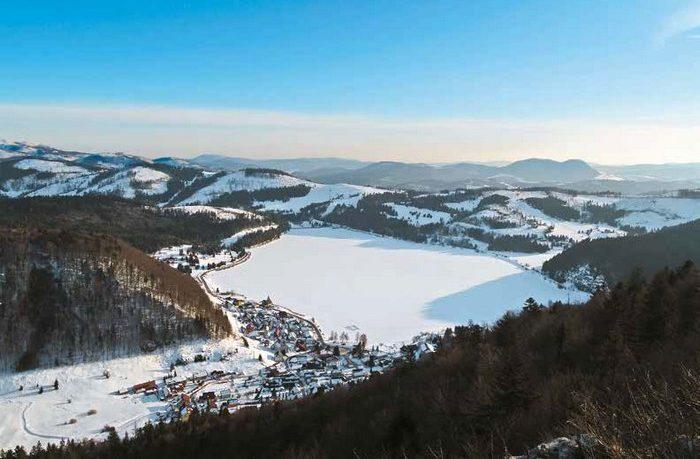 zimný prechod cez Slovenský raj