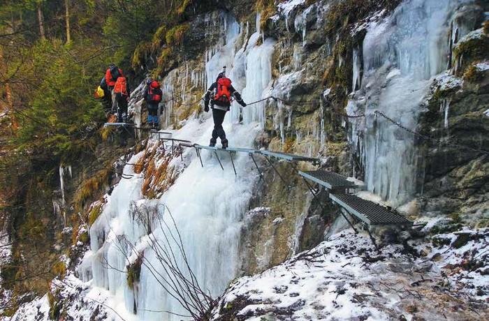 Zimný Prielom Hornádu - cez Slovenský raj
