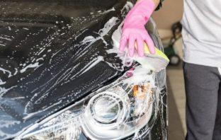 umývanie auta v zime