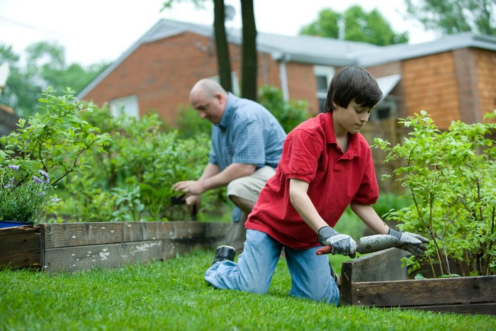 práca na záhrade ročný kalendár