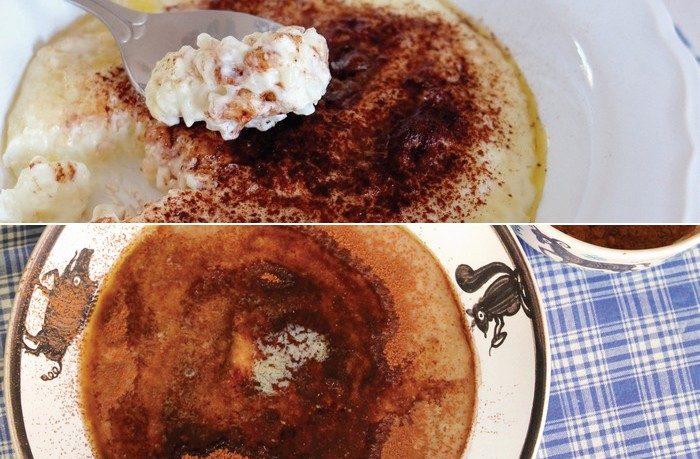 krupicová kaša a domáca mliečna ryžová kaša recept