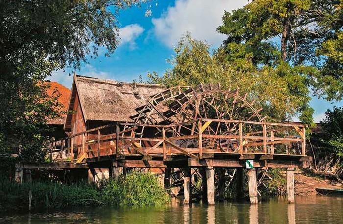 vodné mlyny Jahodná