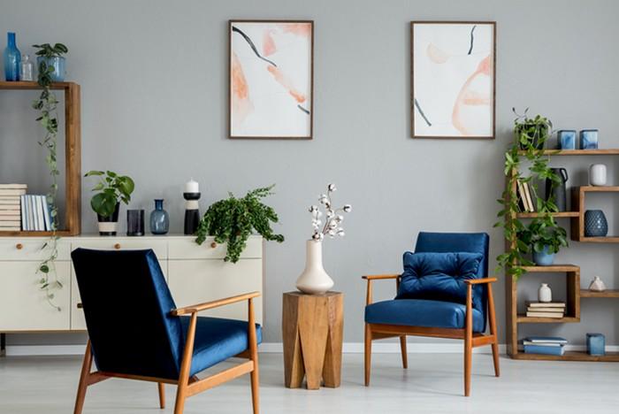 trendy v bývaní obývacia izba
