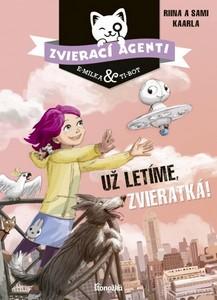 aprílové knižné tipy Zvierací agenti