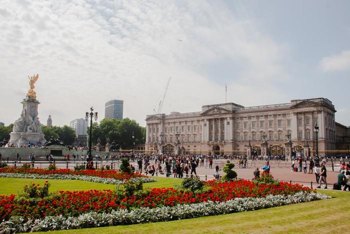 Londýn Buckinghamsky palac