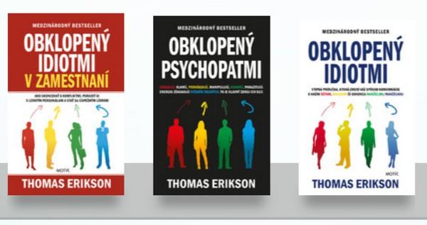 knihy Thomas Erikson