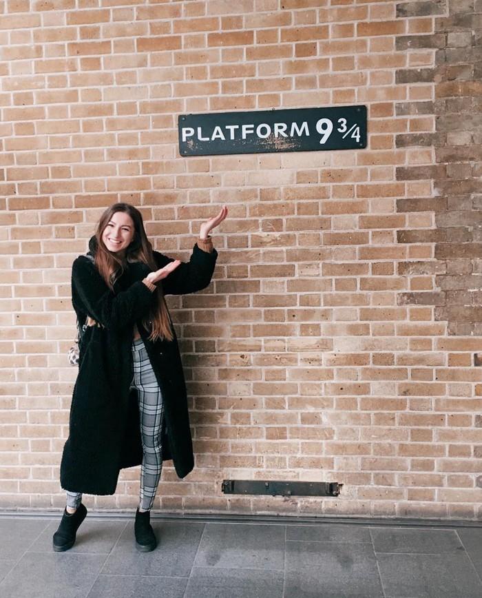 Londýn Nástupište Harryho Pottera