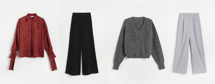 outfity oblečenie na home office