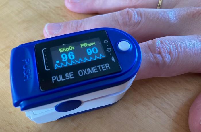 oximeter meranie saturácie kyslíkom