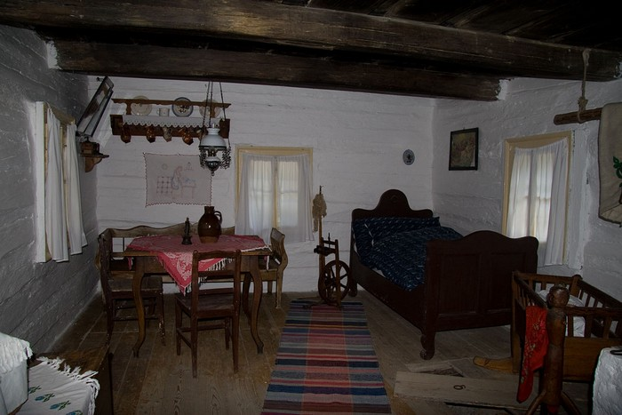 Vlkolínec interiér domu