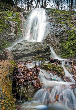 vodopád Padlá voda Smolenický kras