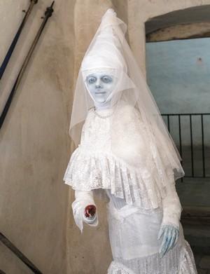 biela pani oravská hrad
