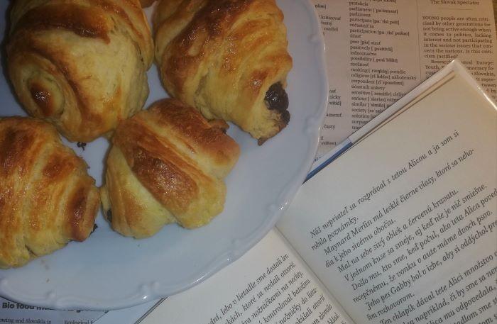 croissant pri knihe