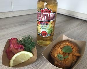 desperados jedlo a pivo
