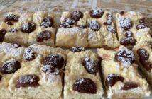 kysnutý koláč s tvarohom recept
