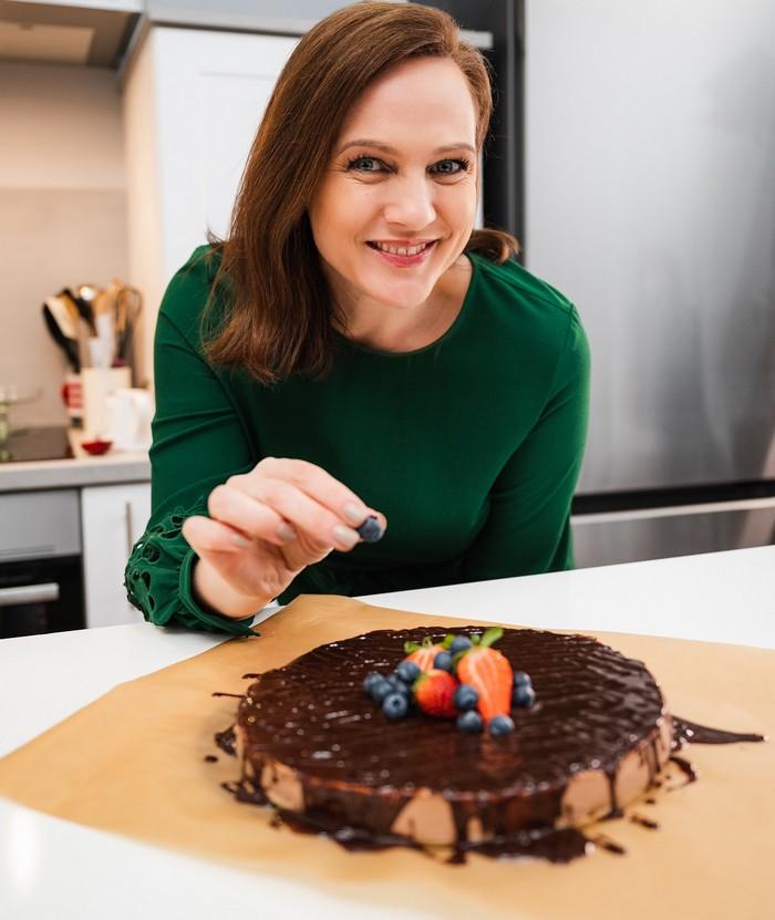 Čokoládový nepečený cheesecake Adriana Poláková - rýchle recepty
