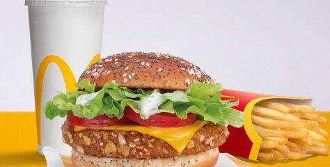 V McDonald's si pochutíte už aj na novinkách: Veggie Burger, či Veggie wrap