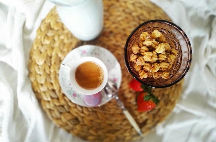 mini croissanty ako raňajkové cereálie recept