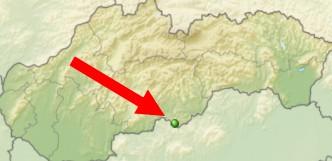 mapa Šomoška