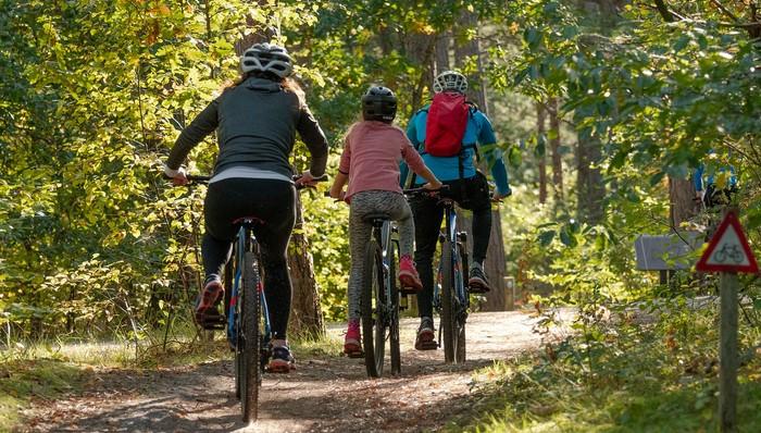 dobrodružné aktivity na bicykli