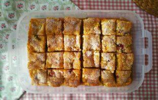 piknikový koláčik recept