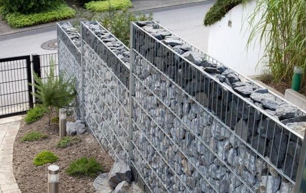 gabiónové ploty - výhody