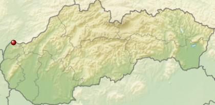 Skalica na mape