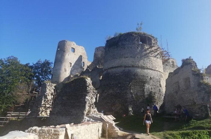 Lietavský hrad zrúcanina