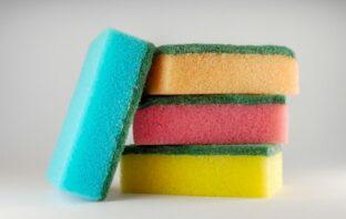 špongia na umývanie riadu