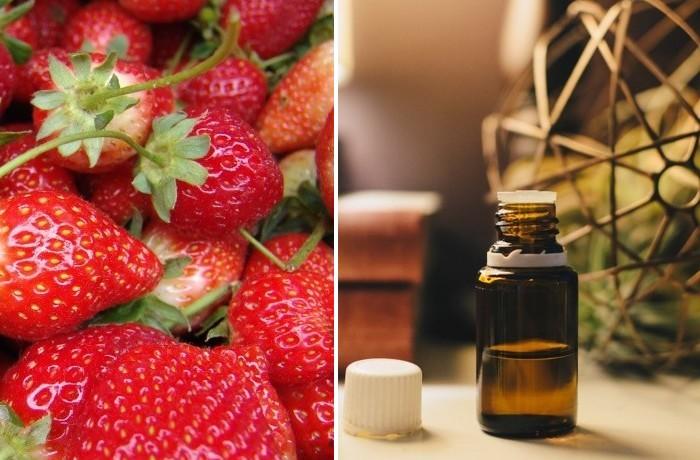 jahodový olej účinky a recept