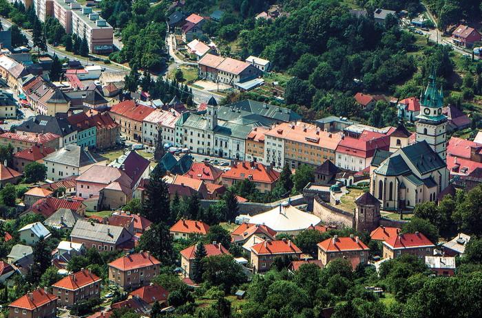 banské mesto Kremnica