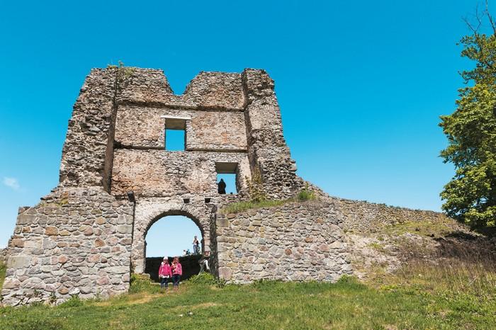 Pustý hrad dolná brána