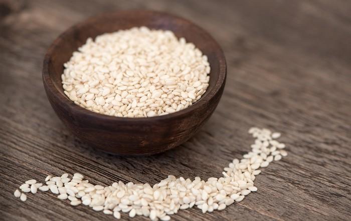 sezamové semienka bohaté na železo