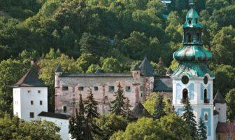Starý zámok a Nový Zámok - Banská Štiavnica