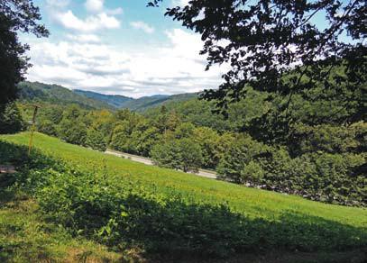 Čermeľská dolina  v okolí Košíc