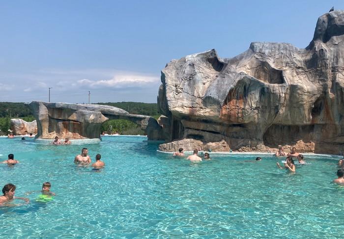 aquaparky v Chorvátsku Poreč