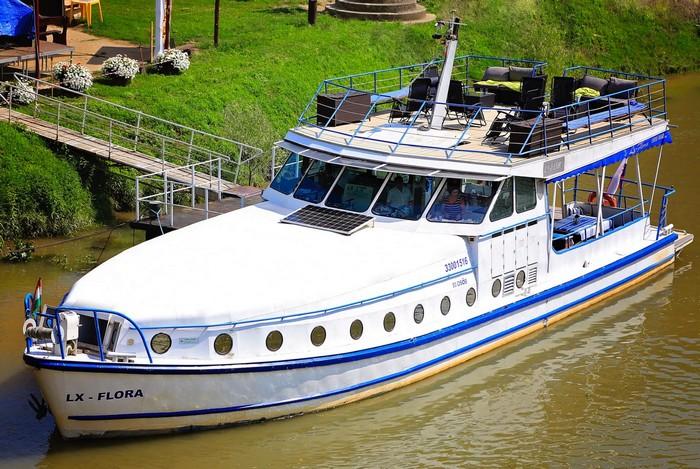 loďou po Slovensku - loďou po Bodrogu do Maďarska