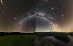 NASA publikovala astronomickú fotku Perzeidov