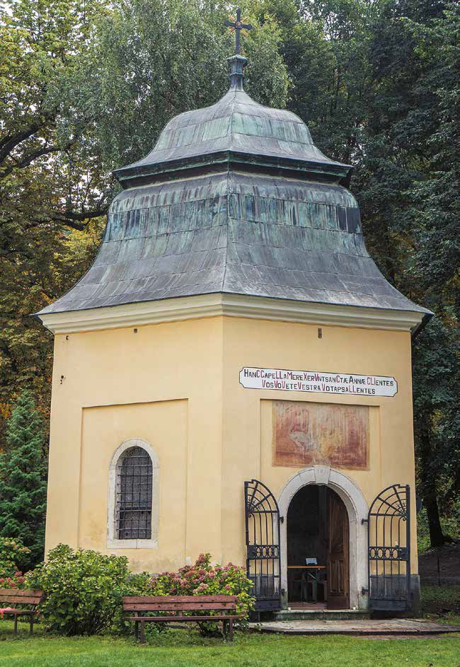 Kaplnka sv. Anny v Marianke