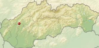 Považský Inovec na mapke
