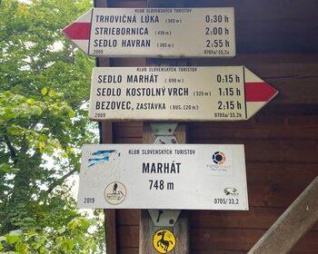 označník Marhát Považský Inovec