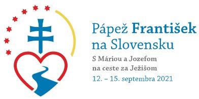logo návštevy pápeža na Slovensku
