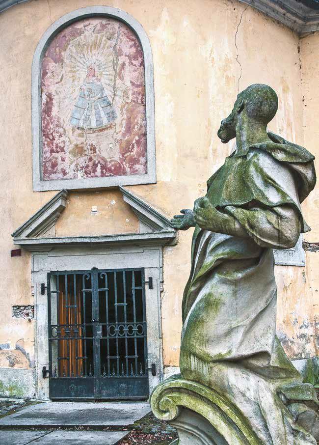 socha pustovníka Mariatal Marianka