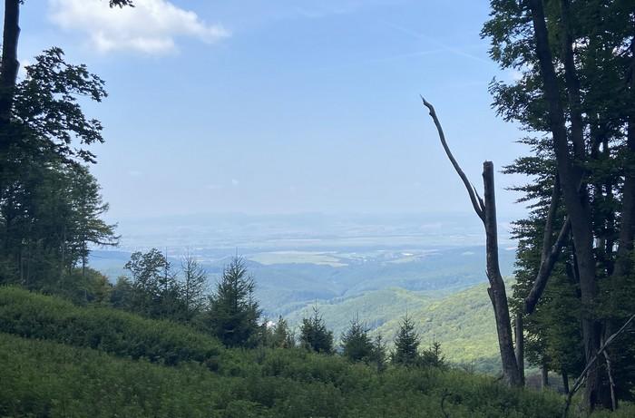 Považský Inovec výhľad
