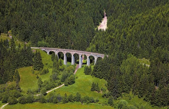 Chramošský viadukt v Telgárte