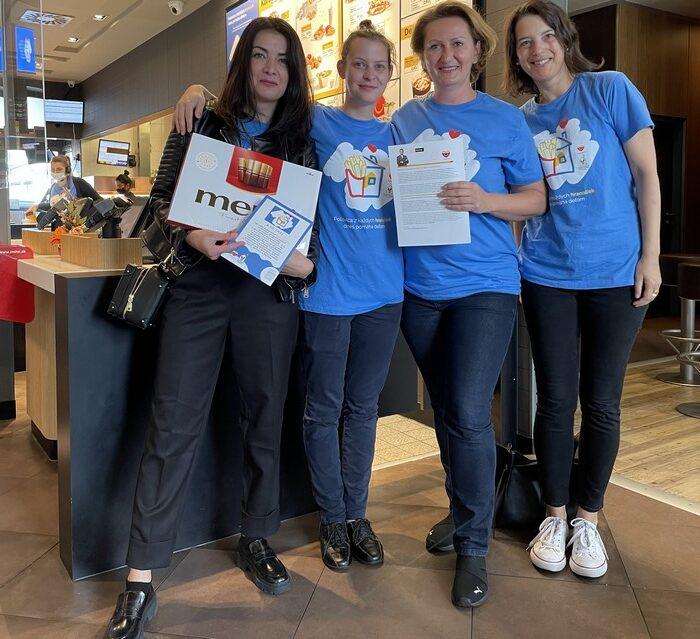 charitatívna akcia McHappy Day